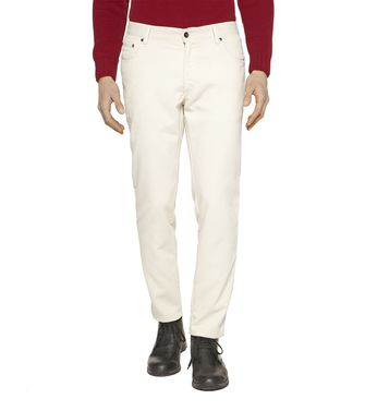 ZEGNA SPORT: 5-pockets Pants Blue - Grey - Maroon - Ivory - 36451101TN