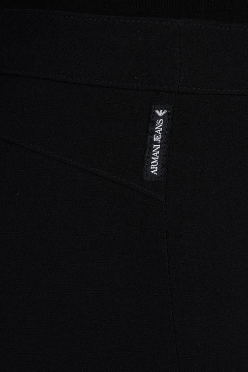 TECHNICAL VISCOSE LOW-RISE JEGGINGS: Straight leg pants Women by Armani - 4