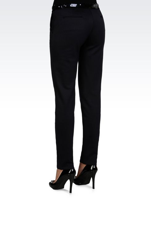 Pants: Straight leg pants Women by Armani - 3