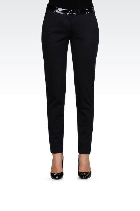 Pants: Straight leg pants Women by Armani - 2