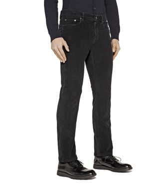 ZZEGNA: 5-pockets Trousers Ice - 36461113GR
