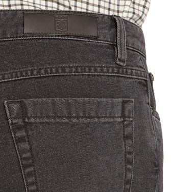 ERMENEGILDO ZEGNA: 5-pockets Trousers Dark brown - 36462039RG