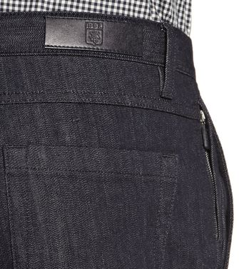 ERMENEGILDO ZEGNA: Denim Nero - 36462042BE
