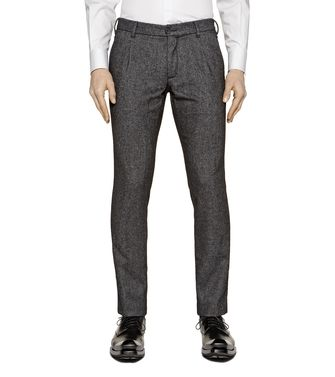 ZZEGNA: Pantalón formal Burdeos - 36462054JB