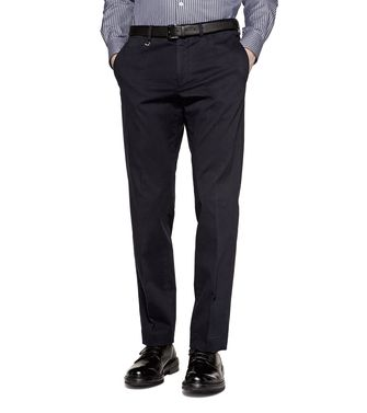 ERMENEGILDO ZEGNA: Casual pants Steel grey - 36466286TM