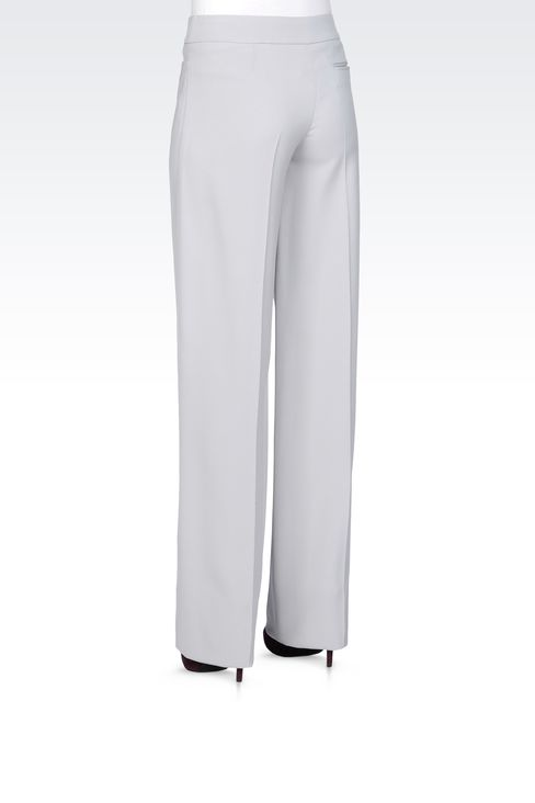 Pants: Low-rise pants Women by Armani - 3