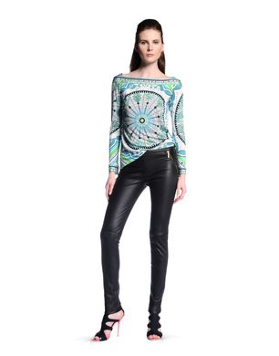 EMILIO PUCCI - Leather trousers