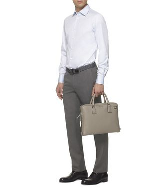 ERMENEGILDO ZEGNA: Formal Trousers Grey - 36485532IE