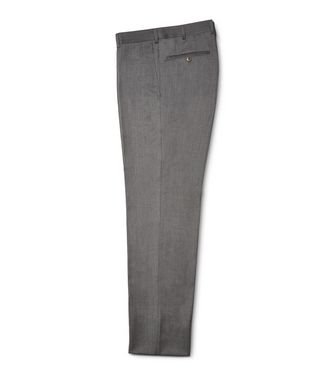 ERMENEGILDO ZEGNA: Pantalón formal Burdeos - 36485532IE