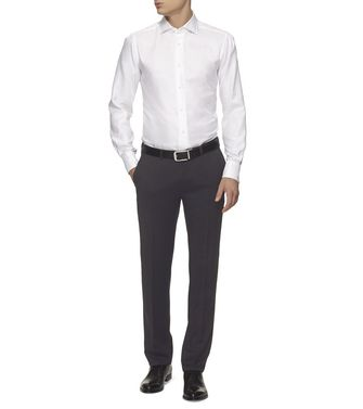 ERMENEGILDO ZEGNA: Formal Trousers Steel grey - 36485534RR
