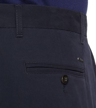 ZEGNA SPORT: Casual pants Blue - 36485535JK