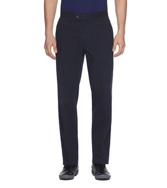 ZEGNA SPORT: Casual trouser Steel grey - 36485535JK