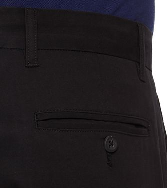 ZEGNA SPORT: Casual trouser Black - 36485536WW