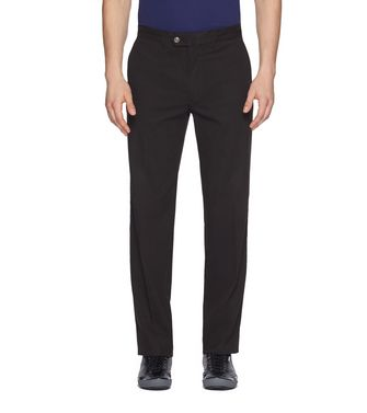 ZEGNA SPORT: Casual trouser Steel grey - 36485536WW