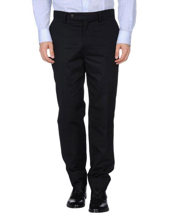Классические брюки SAINT LAURENT. Цвет: черный