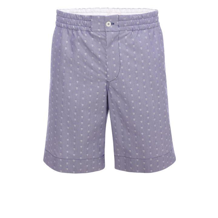 Alexander McQueen, Skull Stripe Shorts
