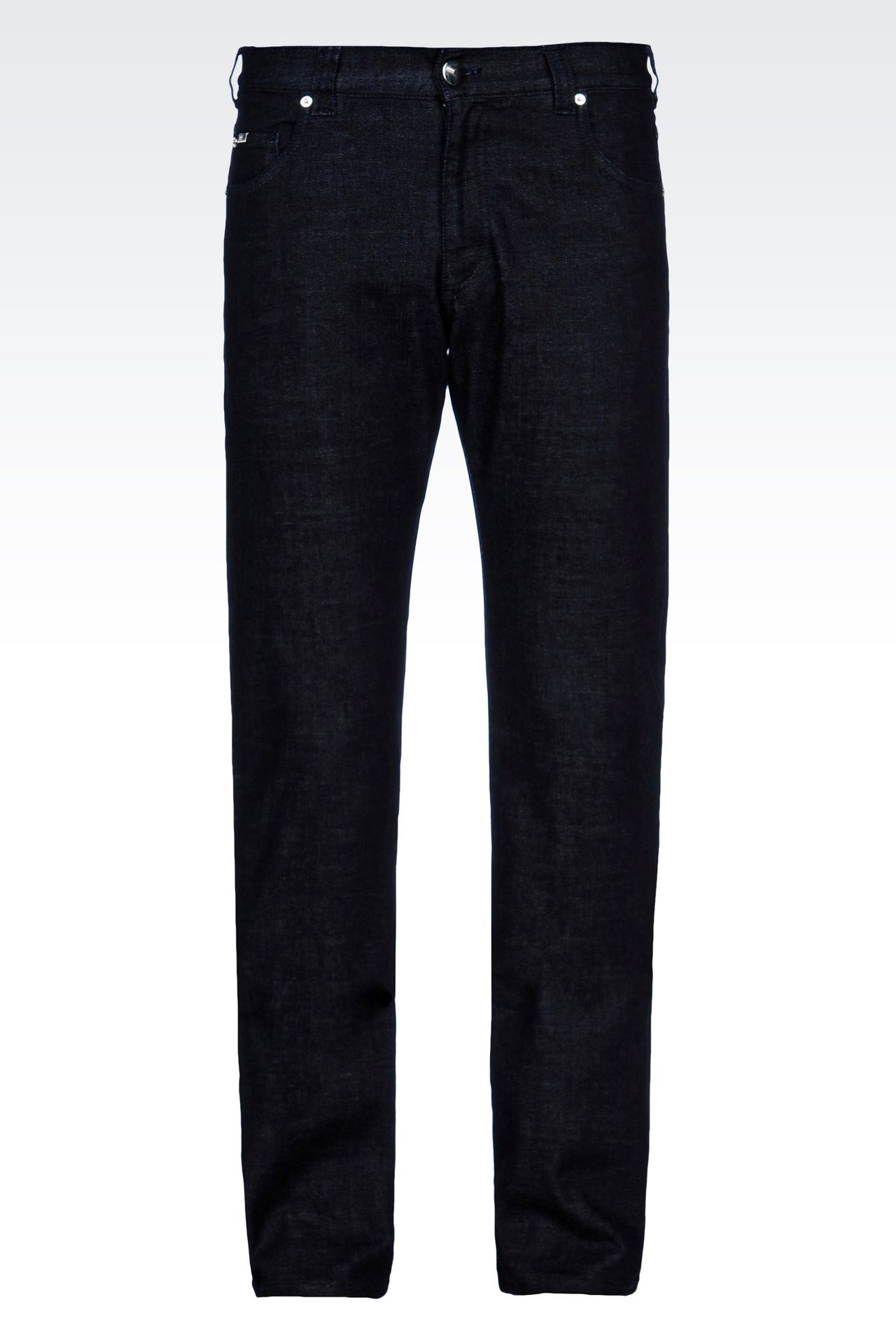 Armani Collezioni Men SLIM FIT STRETCH COTTON JEANS - Armani.com