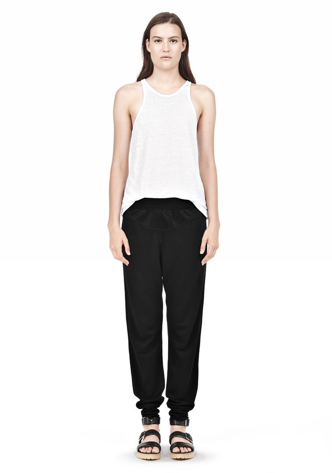 T by ALEXANDER WANG RAYON TRIBLEND SWEATPANTS