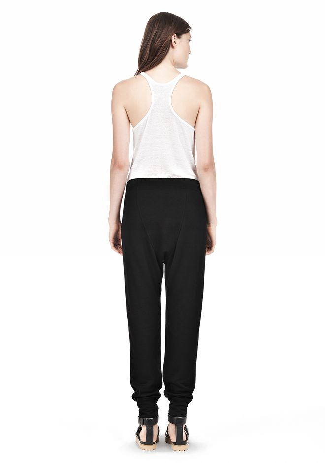 T by ALEXANDER WANG RAYON TRIBLEND SWEATPANTS PANTS Adult 12_n_r