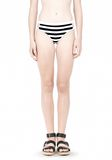 T by ALEXANDER WANG STRIPE MESH COMBO SWIM BOTTOM Swimwear Adult 8_n_d