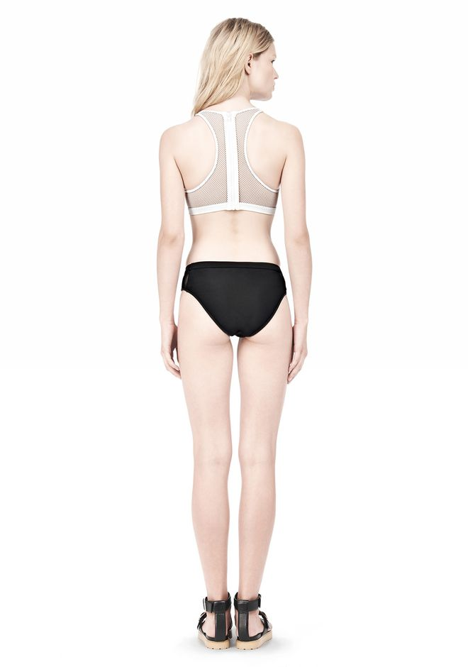 T by ALEXANDER WANG MESH COMBO SWIM BOTTOMS Swimwear Adult 12_n_r
