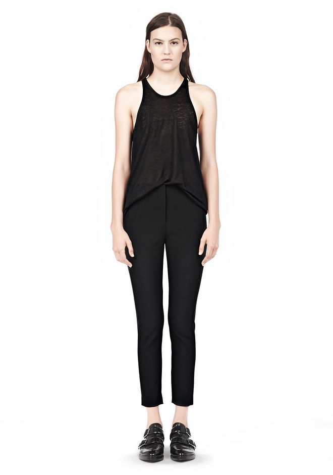 T by ALEXANDER WANG TECH SUITING SKINNY PANTS
