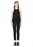 T by ALEXANDER WANG TECH SUITING SKINNY PANTS PANTS Adult 8_n_f