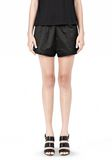 TECHNICAL MEMORY SATIN TRACK SHORTS