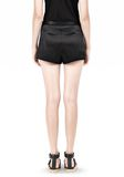 T by ALEXANDER WANG SILK SATIN SHORTS SHORTS Adult 8_n_d