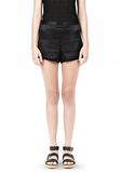 T by ALEXANDER WANG SILK SATIN SHORTS SHORTS Adult 8_n_e