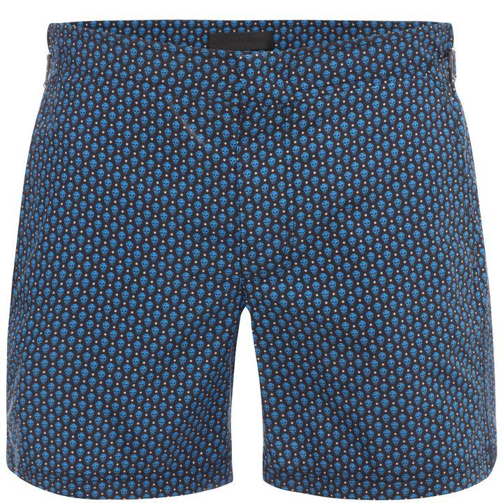 Alexander McQueen, Skull Polka Dot Swim Shorts