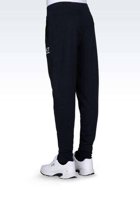 REGULAR FIT FLEECE BOTTOMS: Pants Men by Armani - 3