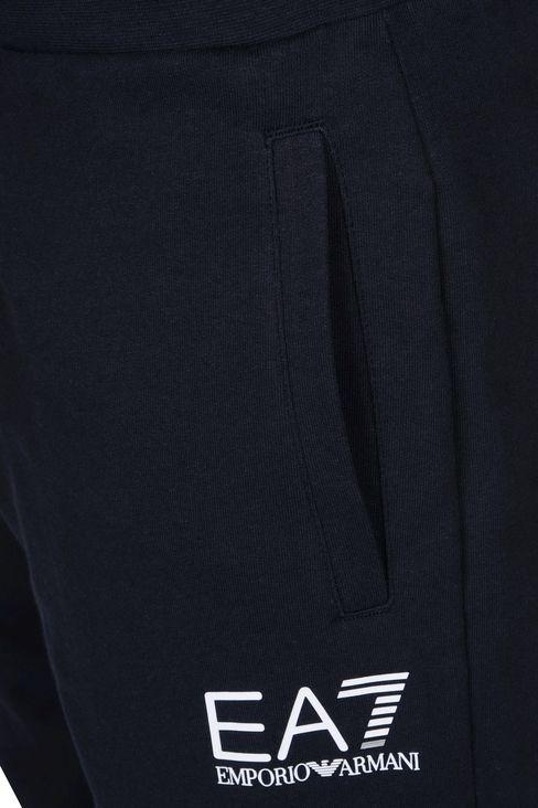 REGULAR FIT FLEECE BOTTOMS: Pants Men by Armani - 4