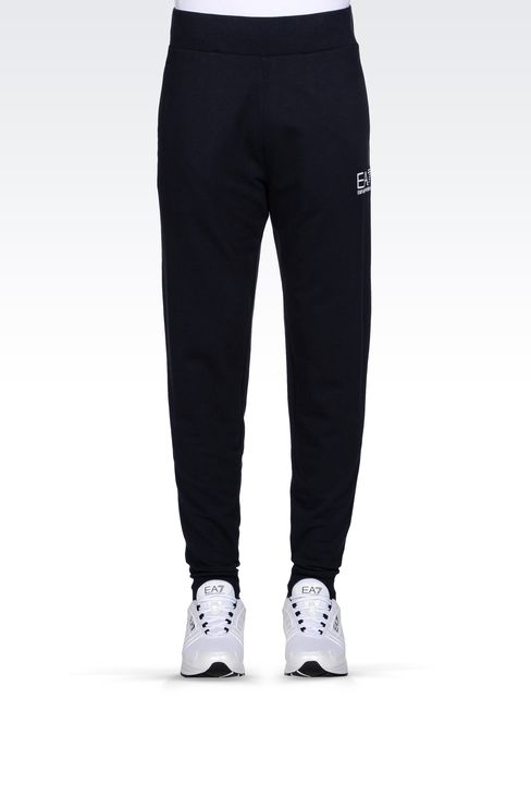 REGULAR FIT FLEECE BOTTOMS: Pants Men by Armani - 2