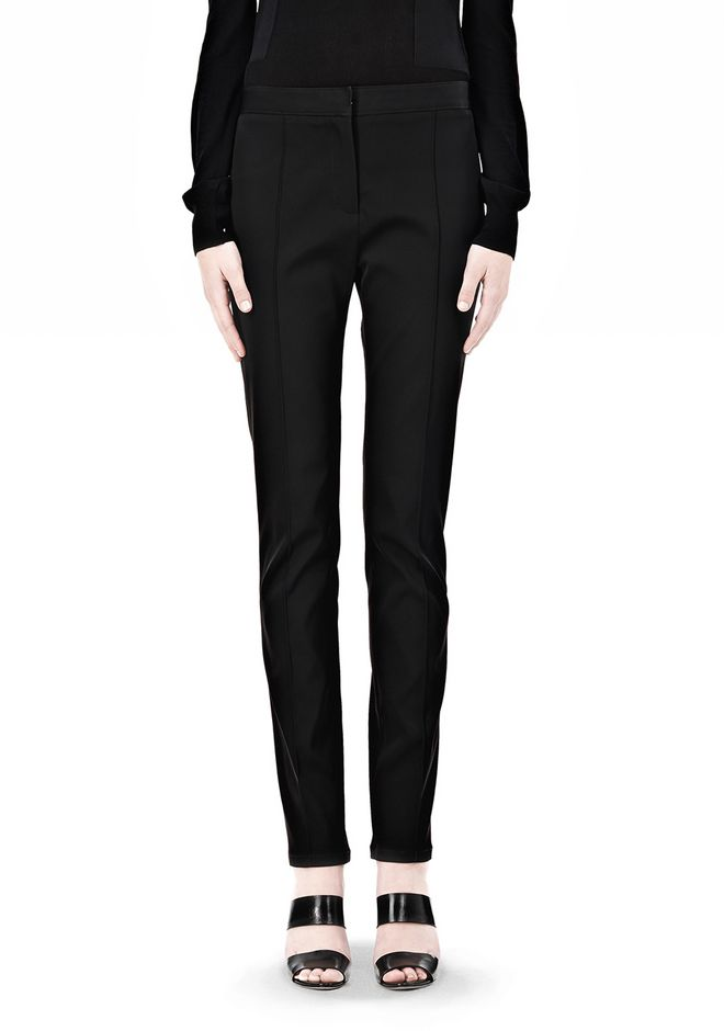 ALEXANDER WANG PINTUCKED SKINNY PANT PANTS Adult 12_n_d