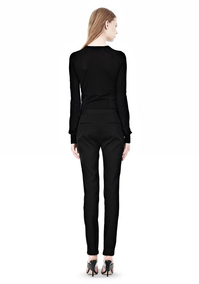 ALEXANDER WANG PINTUCKED SKINNY PANT PANTS Adult 12_n_r