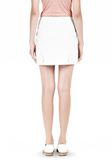 T by ALEXANDER WANG DOUBLE FACE STRETCH COTTON MINI SKIRT Skirt Adult 8_n_d