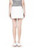 T by ALEXANDER WANG LIGHTWEIGHT A-LINE LEATHER SKIRT Skirt Adult 8_n_d