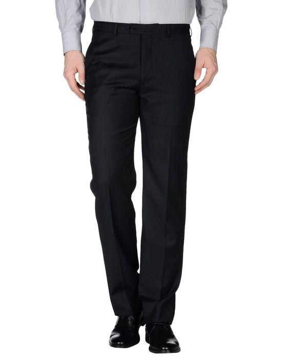 Классические брюки ARMANI COLLEZIONI. Цвет: темно-синий