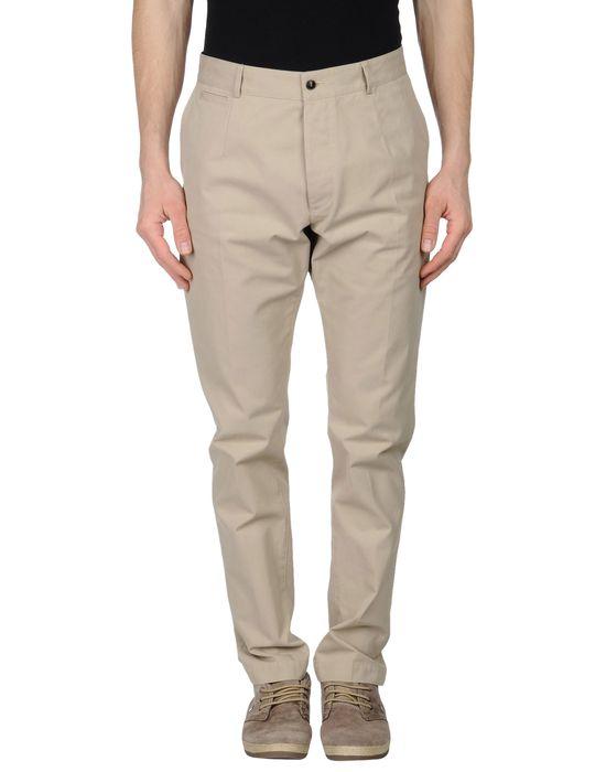 Классические брюки DOLCE & GABBANA. Цвет: бежевый