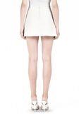 ALEXANDER WANG PLEATED LEATHER SKIRT SKIRT Adult 8_n_a
