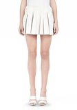 ALEXANDER WANG PLEATED LEATHER SKIRT SKIRT Adult 8_n_d