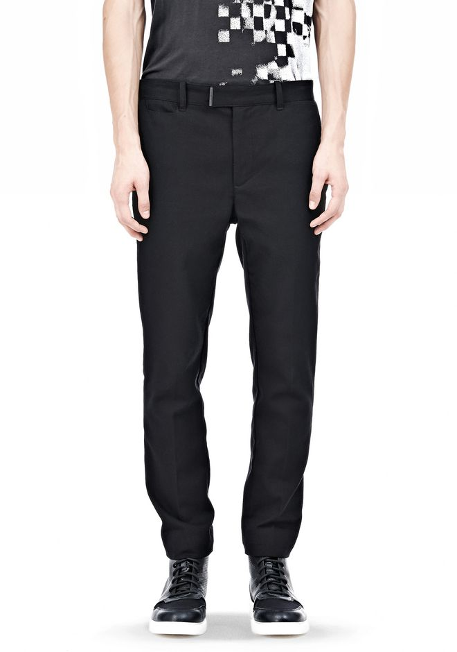 ALEXANDER WANG DRESS TROUSER WITH COIN POCKET DETAIL PANTS Adult 12_n_d