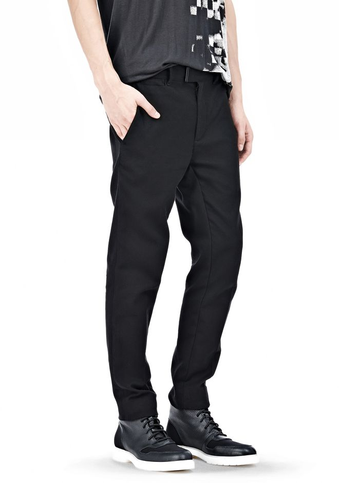 ALEXANDER WANG DRESS TROUSER WITH COIN POCKET DETAIL PANTS Adult 12_n_e