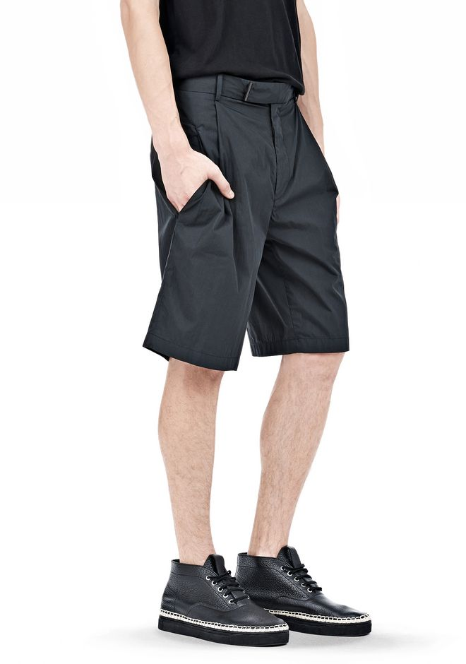 ALEXANDER WANG PLEATED SHORTS SHORTS Adult 12_n_e