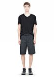 ALEXANDER WANG PLEATED SHORTS SHORTS Adult 8_n_f