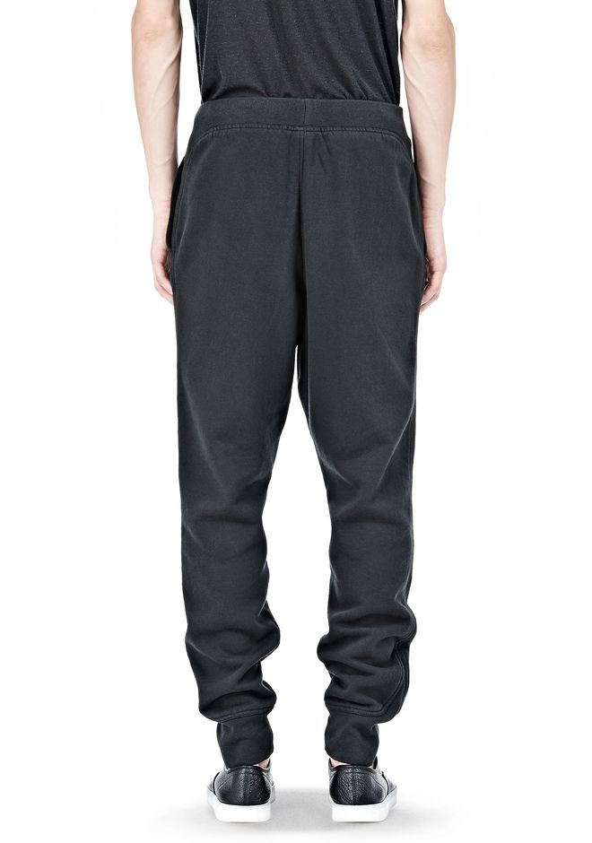 T by ALEXANDER WANG VINTAGE FLEECE SWEATPANTS PANTS Adult 12_n_d