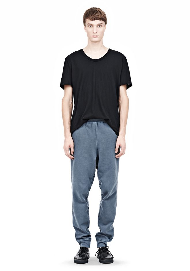 T by ALEXANDER WANG VINTAGE FLEECE SWEATPANTS PANTS Adult 12_n_f