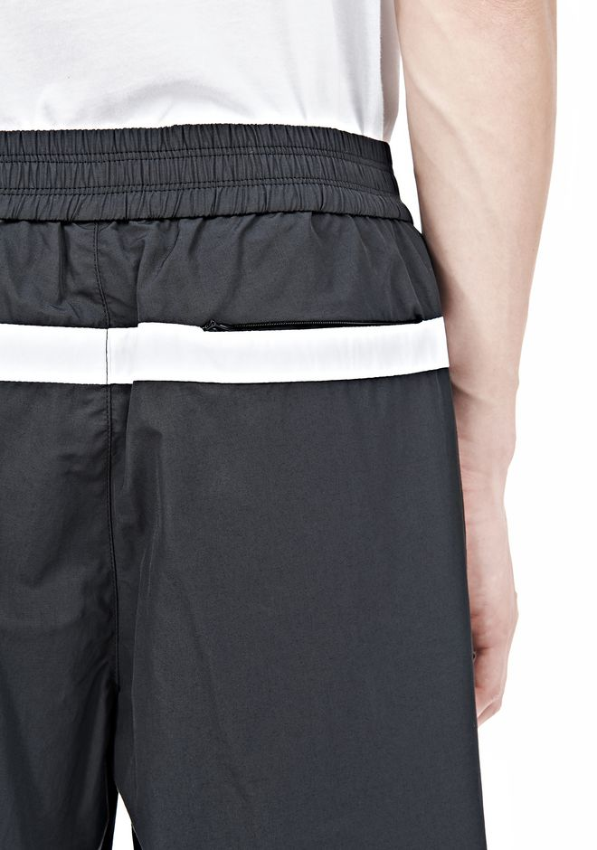 T by ALEXANDER WANG SWIM NYLON GRID PANEL TRUNKS SHORTS Adult 12_n_a