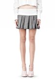 ALEXANDER WANG IRREGULAR PLEAT SKIRT SKIRT Adult 8_n_d